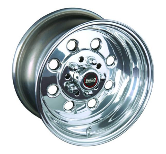 90 DRAGLITE DRAG RACE ONLY POLISHED RIM by WELD RACING WHEELS