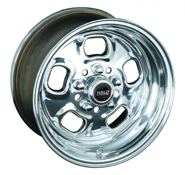 93 RODLITE DRAG RACE ONLY POLISHED RIM by WELD RACING WHEELS