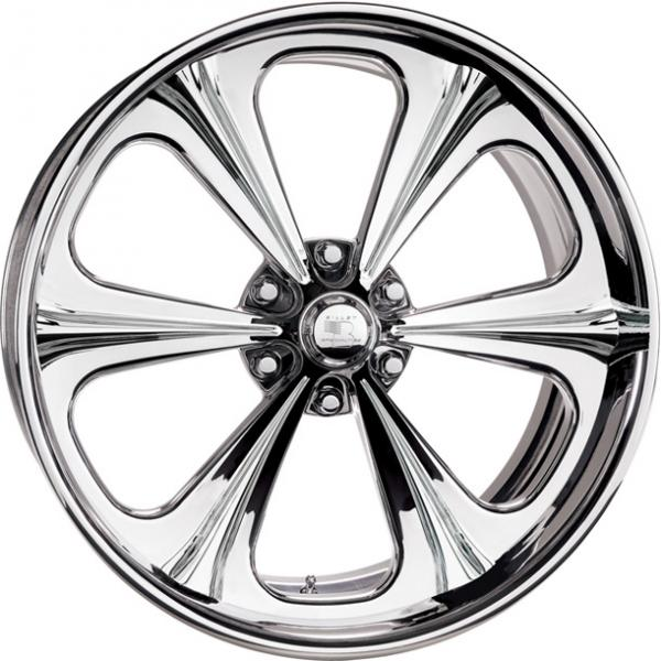 PROFILE COLLECTION RAIL 6 POLISHED RIM by BILLET SPECIALTIES WHEELS