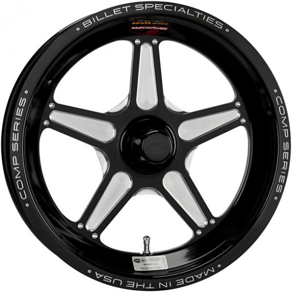 COMP 5 1PC SPINDLE BLACK RIM by BILLET SPECIALTIES WHEELS