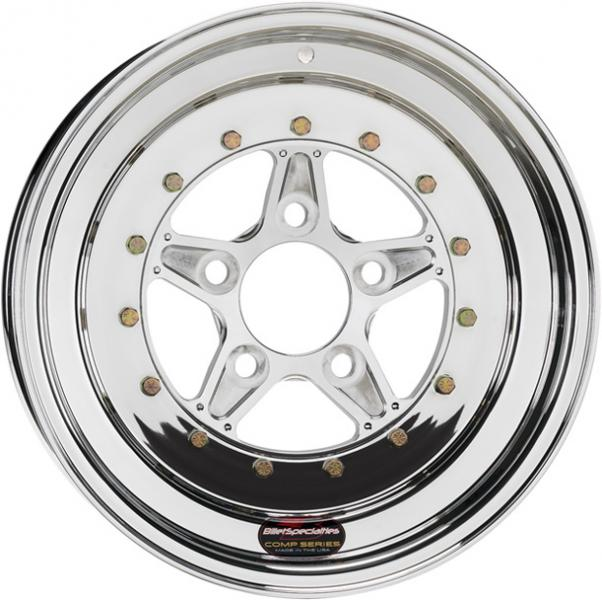COMP 5 2PC FRONT POLISHED RIM by BILLET SPECIALTIES WHEELS