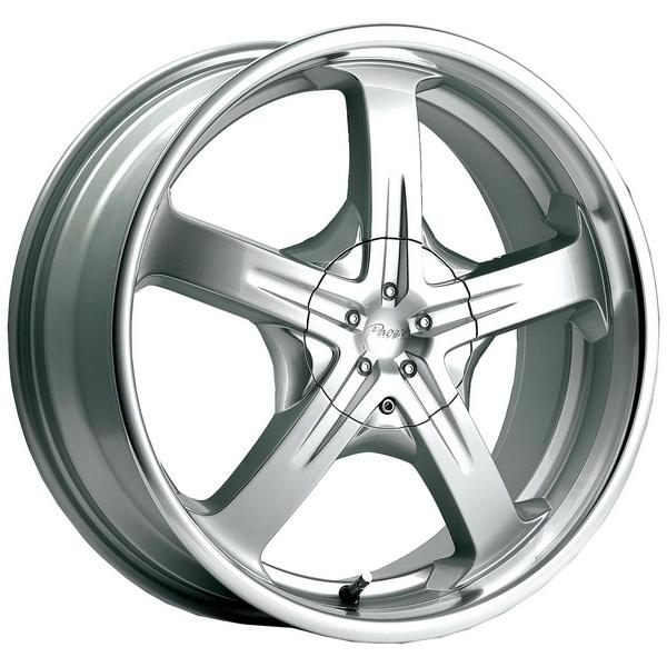 774MS RELIANT SILVER RIM by PACER WHEELS