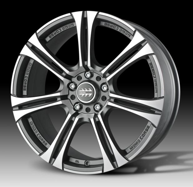 NEXT MATTE ANTHRACITE RIM with DIAMOND CUT FACE by MOMO WHEELS