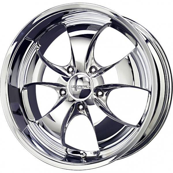 LITHIUM 5 CHROME RIM by LIQUID METAL WHEELS