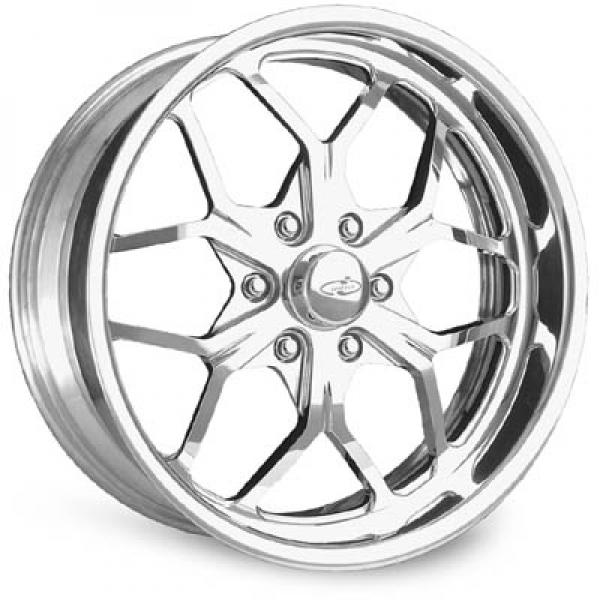 MULHULLAND 6 POLISHED RIM by INTRO WHEELS
