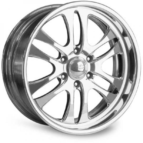 PROWLER 6 POLISHED RIM by INTRO WHEELS