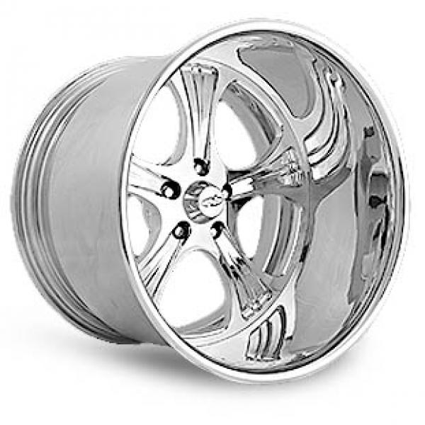 INDY POLISHED RIM by INTRO WHEELS