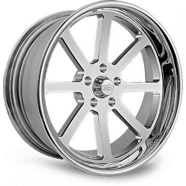 BULLET POLISHED RIM by INTRO WHEELS