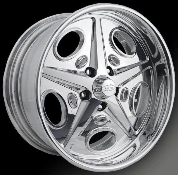 HOLBROOK POLISHED RIM by INTRO WHEELS