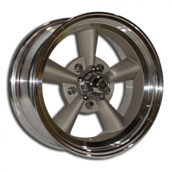 V40 1 PIECE BLASTED CENTER and MACHINED OUTER RIM by VINTAGE WHEEL WORKS