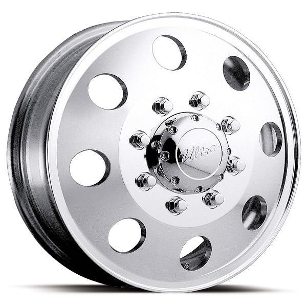 DUALLY 002 POLISHED FRONT RIM by ULTRA WHEELS