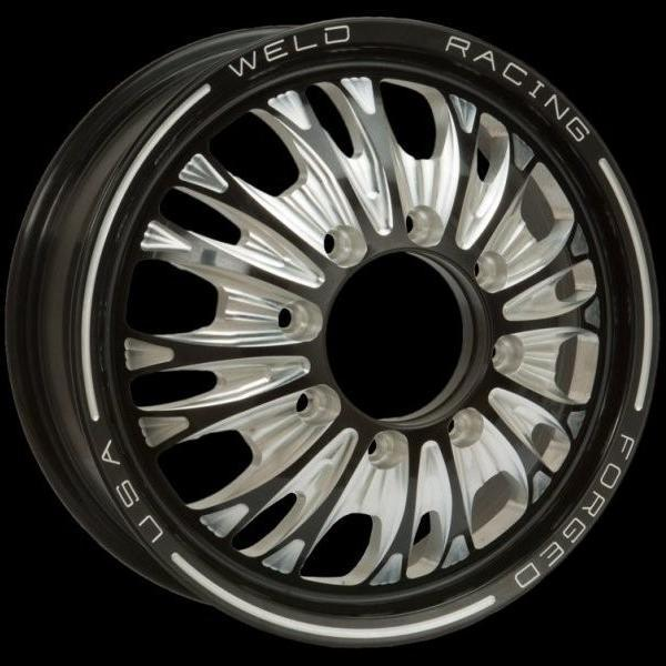 DUALLY D54 BLACK ANODIZED RIM by WELD RACING WHEELS