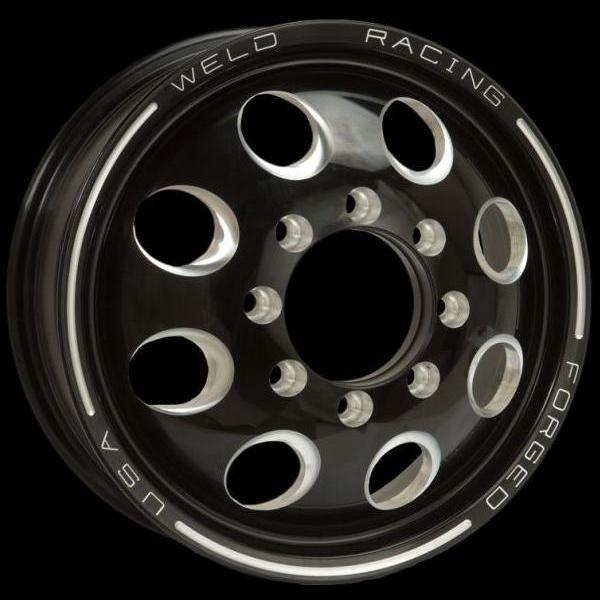 DUALLY D50 BLACK ANODIZED RIM by WELD RACING WHEELS