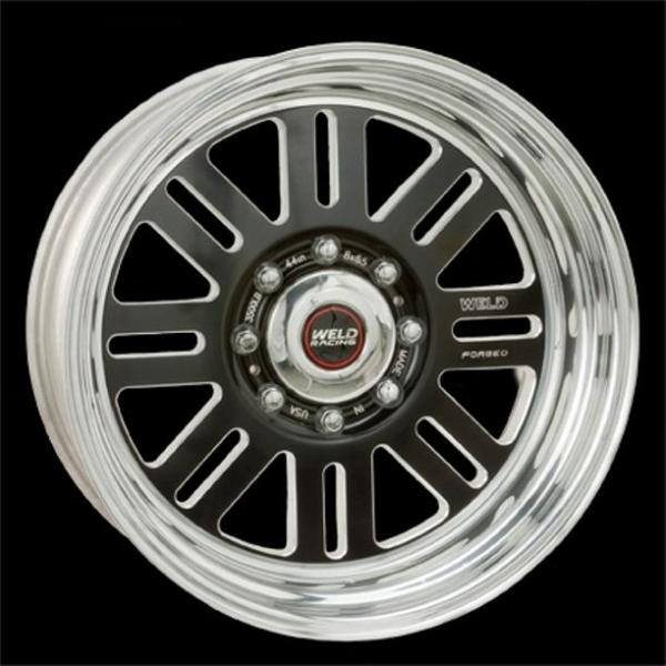 DUALLY D56 BLACK ANODIZED RIM by WELD RACING WHEELS