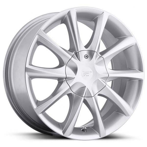 E-TWINE 081 SILVER RIM by PLATINUM WHEELS