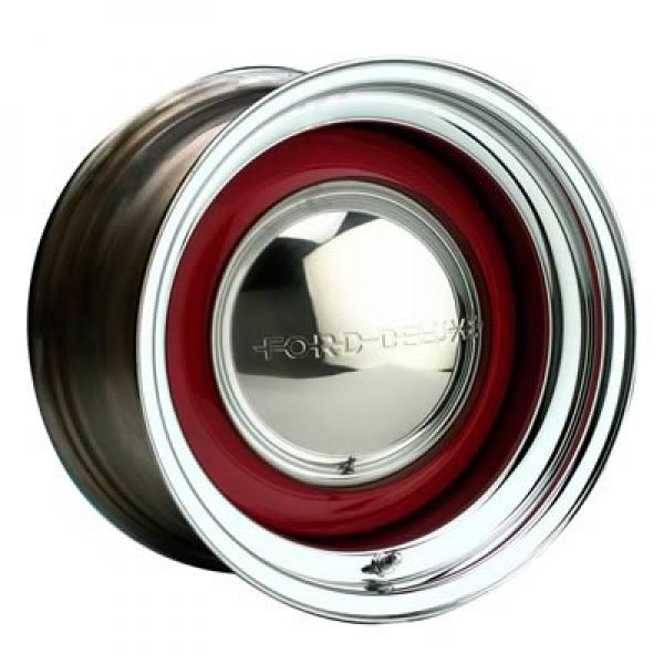 21 SERIES SOLID CHROME/BARE - Cap Not Included by WHEEL VINTIQUES