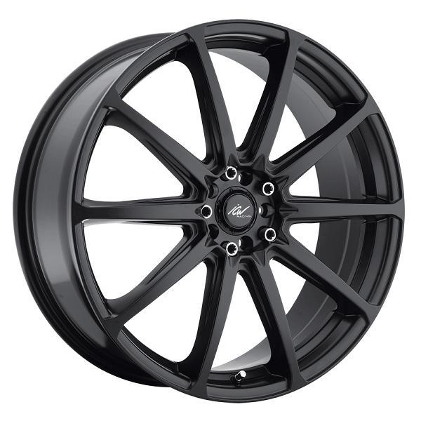 215B BANSHEE SATIN BLACK RIM by ICW WHEELS