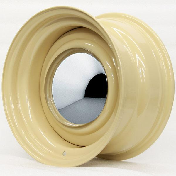 SMOOTHIE CAMEL WITH SMOOTHIE CAP AND TRIM RING by HRH STEEL WHEELS