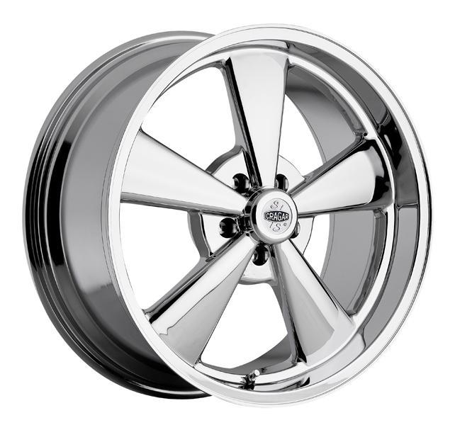 CRAGAR 610C LATEMODEL S/S SUPER SPORT CHROME WHEEL PPT by SPECIAL BUY WHEELS