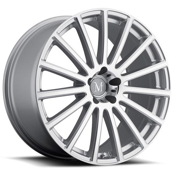 ROTEC SILVER RIM with MIRROR CUT FACE by MANDRUS WHEELS