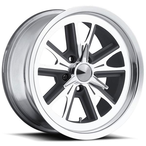 TYPE 454 ANTHRACITE RIM with DIAMOND CUT ACCENTS by ULTRA WHEELS