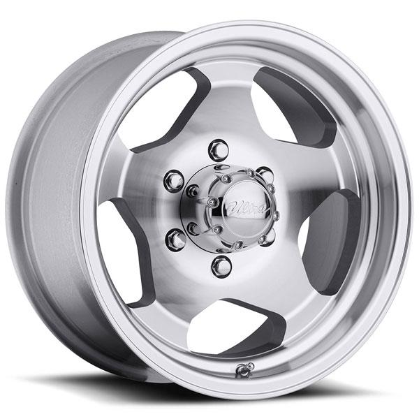 TYPE 50/51 MACHINED RIM with CLEAR COAT by ULTRA WHEELS