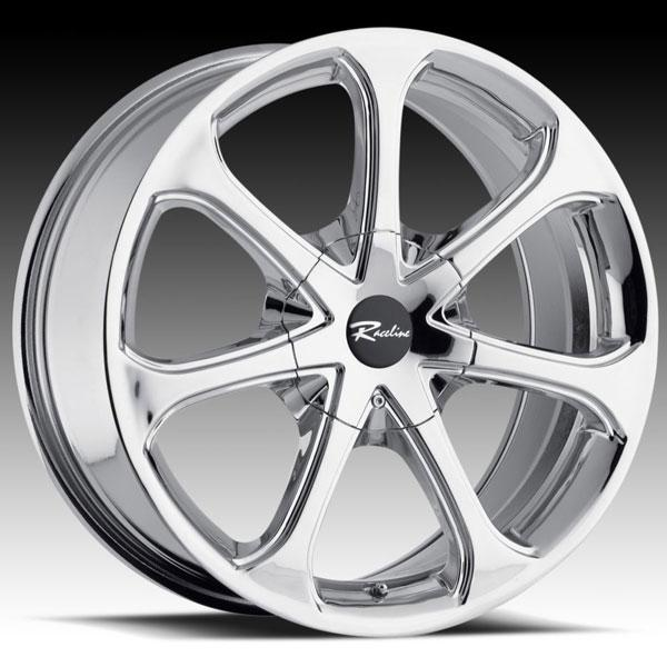197 CHROME RIM by RACELINE WHEELS