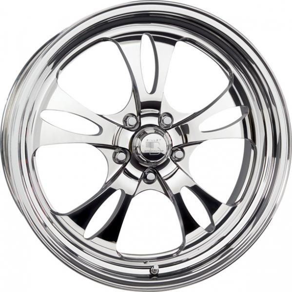 STREET SMART LINE FAST LANE POLISHED FAST TO BUILD by BILLET SPECIALTIES WHEELS