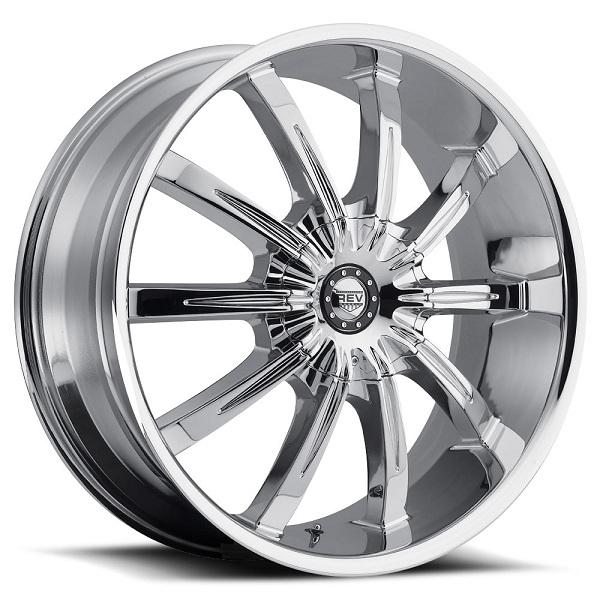 RWD 927 CHROME RIM by REV WHEELS