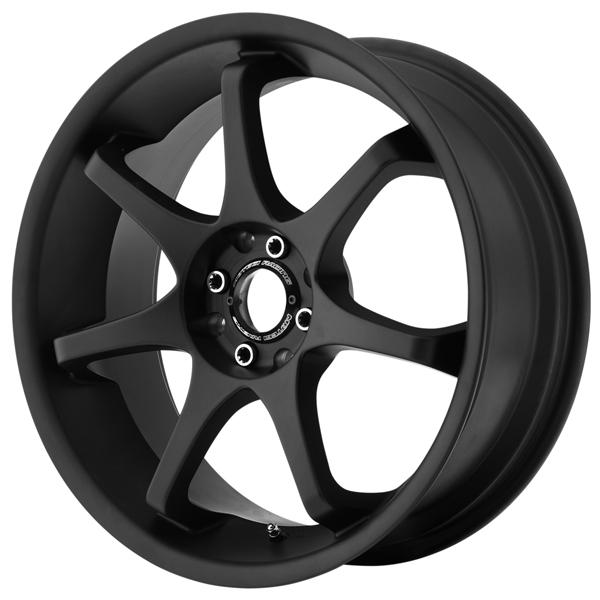 MR125 SATIN BLACK RIM by MOTEGI RACING WHEELS