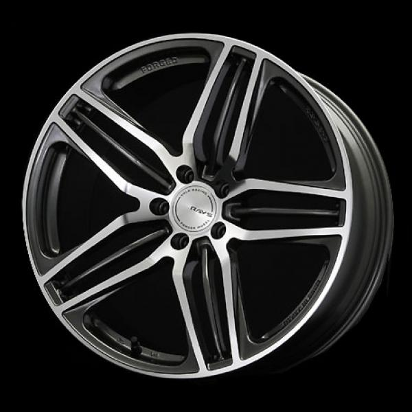 VOLK RACING WHEELS - Triniti-V - Diamond Cut/Side Dark Gunmetal by VOLK RACING