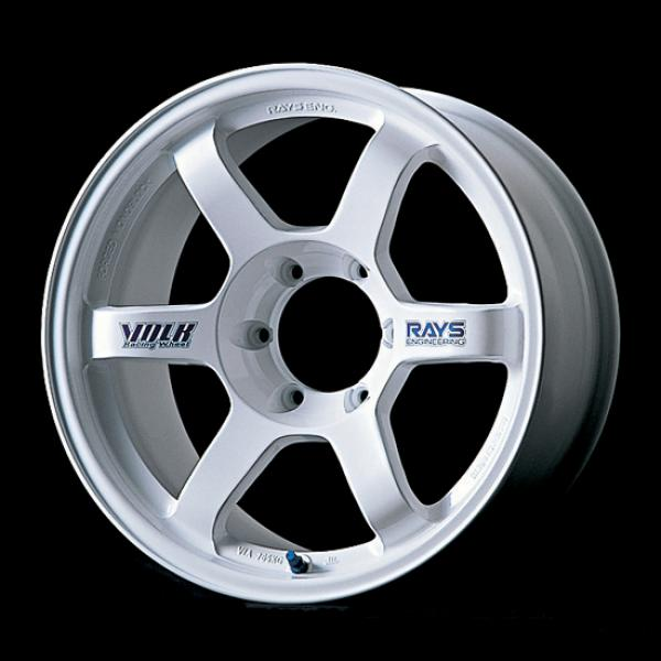 VOLK RACING WHEELS - TE37 - Large PCD-White by VOLK RACING