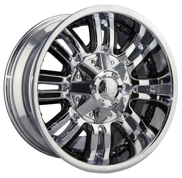 ASSAULT CHROME RIM by MAYHEM WHEELS