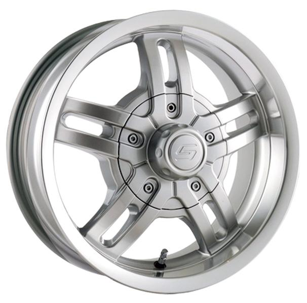 STYLE 12 SILVER TRAILER RIM by ION TRAILER WHEELS