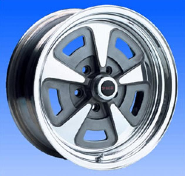 93 SERIES BILLET PONTIAC RALLYE II POLISHED RIM by CIRCLE RACING WHEELS