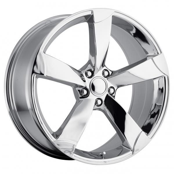AUDI A5 STYLE 85 CHROME RIM by FACTORY REPRODUCTIONS WHEELS