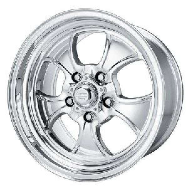 VNC450 HOPSTER (CUSTOM SHOP) CHROME WHEEL with POLISHED RIM by AMERICAN RACING WHEELS