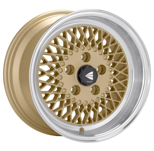 ENKEI92 GOLD RIM with MACHINED LIP by ENKEI WHEELS