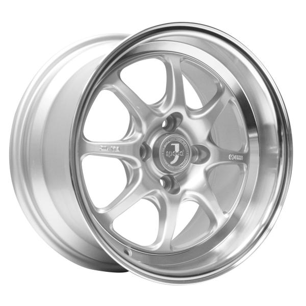 J-SPEED SILVER RIM with MACHINED LIP by ENKEI WHEELS