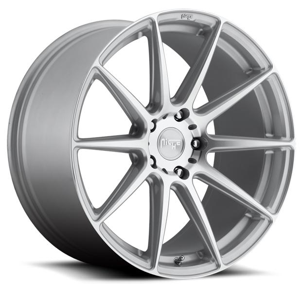ESSEN M146 SILVER MACHINED RIM by NICHE WHEELS