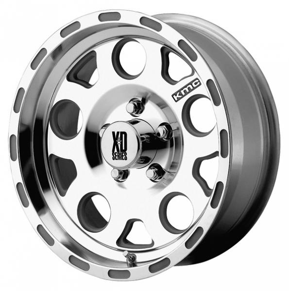 XD122 ENDURO MACHINED RIM with CLEAR COAT by XD SERIES WHEELS