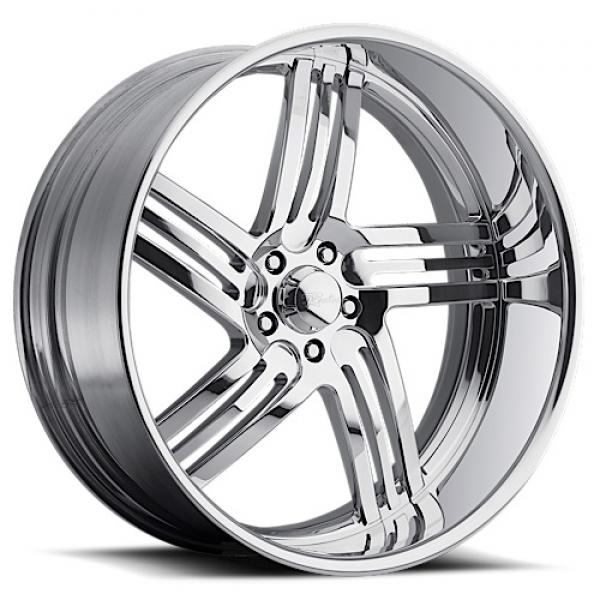 MAJESTIC 5 POLISHED RIM by RACELINE WHEELS