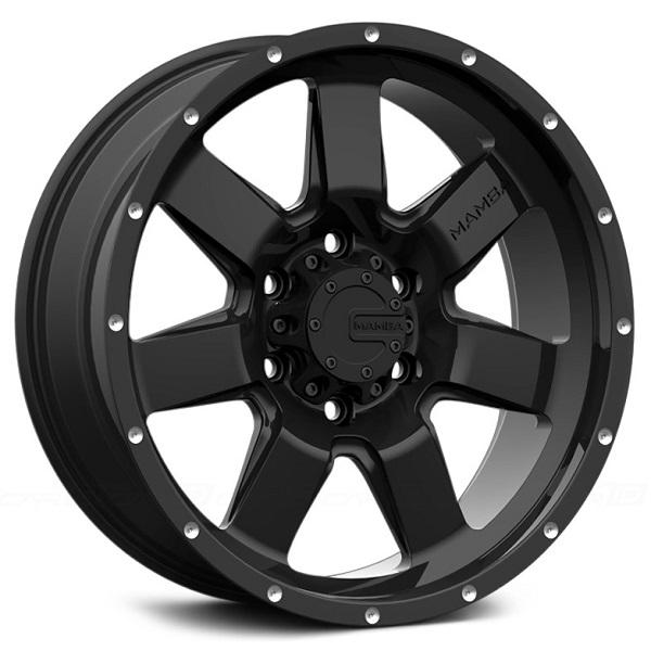 M14 MATTE BLACK RIM by MAMBA OFFROAD WHEELS