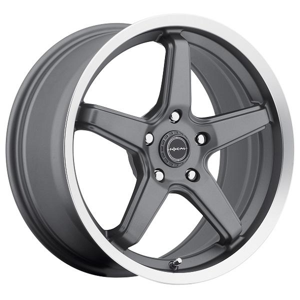 HIGH V 429 ANTHRACITE RIM with DIAMOND CUT LIP by FOCAL WHEELS