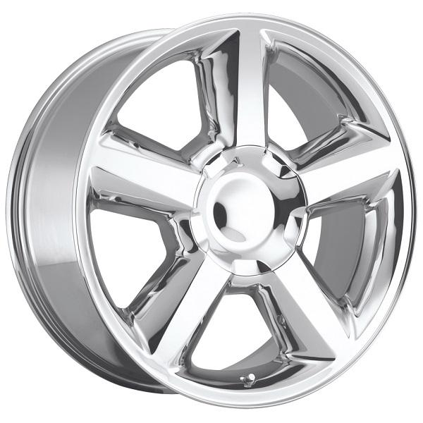 CHEVY TAHOE 2007 STYLE 31 POLISHED RIM by FACTORY REPRODUCTIONS WHEELS