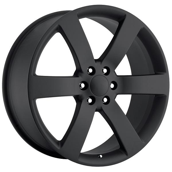 CHEVY TRAILBLAZER SS STYLE 32 SATIN BLACK RIM by FACTORY REPRODUCTIONS WHEELS