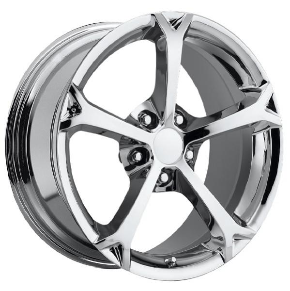 CORVETTE C6 GRAND SPORT 2010 STYLE 19 CHROME RIM by FACTORY REPRODUCTIONS WHEELS
