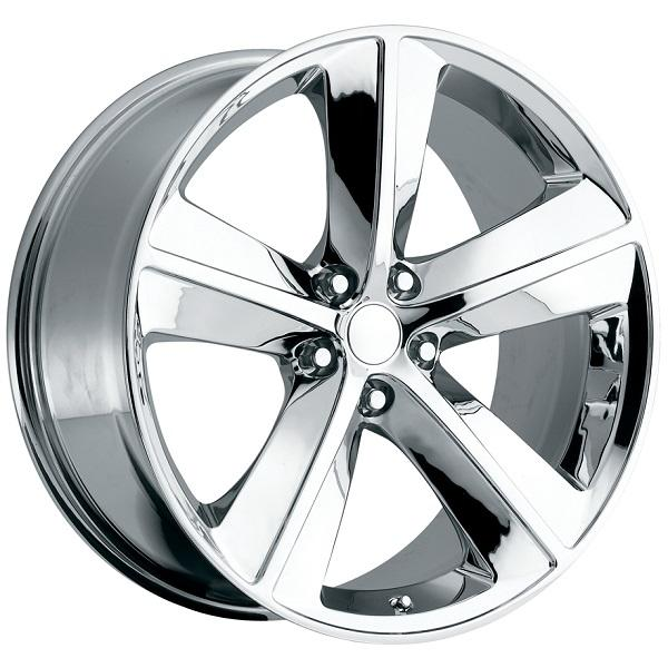 DODGE CHALLENGER SRT8 STYLE 62 CHROME RIM by FACTORY REPRODUCTIONS WHEELS