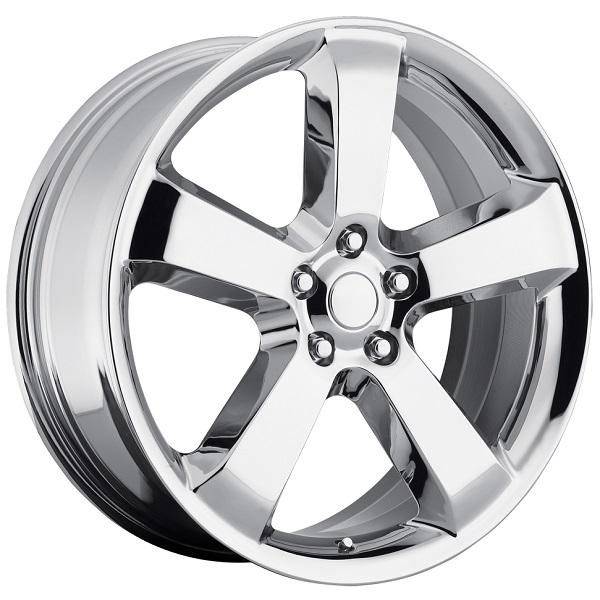 DODGE CHARGER SRT8 STYLE 61 CHROME RIM by FACTORY REPRODUCTIONS WHEELS
