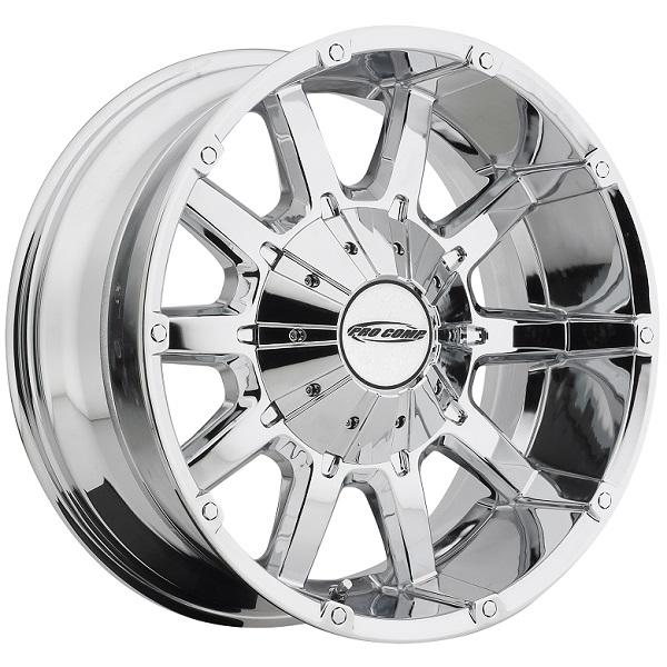 10 GAUGE SERIES 6050 CHROME RIM by PRO COMP ALLOYS WHEELS